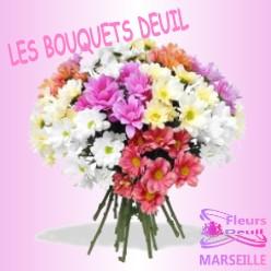 BOUQUET DE FLEURS DEUIL LYON